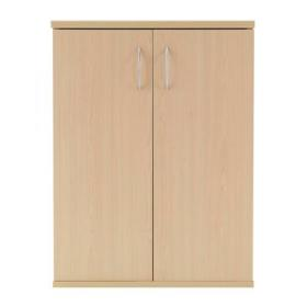 Serrion 800mm Warm Maple Desk High Cupboard KF838614