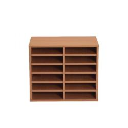 Cheap Stationery Supply of Jemini Intro 2 Bay 12 Compartment Unit Floor KF838893 Office Statationery