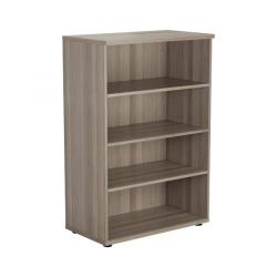 Cheap Stationery Supply of Jemini Walnut 1200mm 1 Shelf Bookcase KF840138 Office Statationery