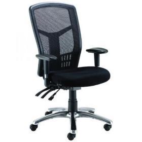 Avior Logan High Back Mesh Operator Chairs (Adjustable seat and height adjustment) 09HD05