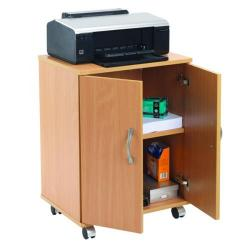 Cheap Stationery Supply of Serrion Beech Mobile PC Printer Stand KF97101 Office Statationery