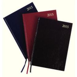 Cheap Stationery Supply of Condiary A4 2015 Diary Day to a Page Black KFA41BK15 Office Statationery