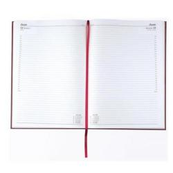 Cheap Stationery Supply of Condiary A5 2014 Appointment Diary Day Per Page Burgundy KFA51ABG14 Office Statationery