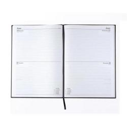 Cheap Stationery Supply of Condiary A5 2014 Diary 2 Days to a Page Black KFA52BK14 Office Statationery