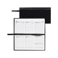 Cheap Stationery Supply of Condiary 2014 Slim Week to View Landscape Appointment Diary Black KFHBK14 Office Statationery