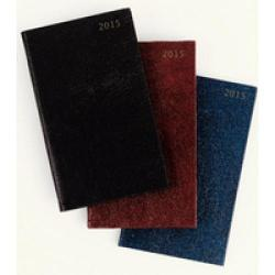 Cheap Stationery Supply of Condiary 2015 Slim Week to View Landscape Appointment Diary Black KFHBK15 Office Statationery