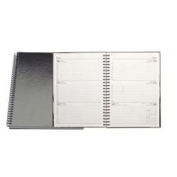 Cheap Stationery Supply of Condiary A5 2014 Twin Wire Diary Week to View Black KFWA53BK14 Office Statationery
