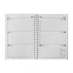 Cheap Stationery Supply of Condiary A5 2013 Twin Wire Diary Week to View White KFWA53WH13 Office Statationery