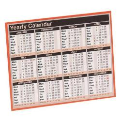 Cheap Stationery Supply of Condiary 257x210mm 2014 Year to View Calendar KFYC114 Office Statationery