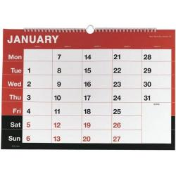 Cheap Stationery Supply of Condiary KFYC A3 2014 Monthly Memo Calendar KFYC2314 Office Statationery