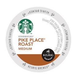 Cheap Stationery Supply of Keurig Starbucks Pike Place Roast Pods (Pack of 24) 93-07019 Office Statationery