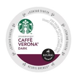 Cheap Stationery Supply of Keurig Starbucks Caffe Verona Pods (Pack of 24) 93-07020 Office Statationery