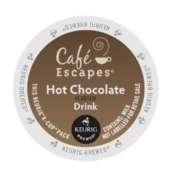 Cheap Stationery Supply of Keurig Cafe Escapes Hot Chocolate Flavour Drink Pods (Pack of 24) 93-070201 Office Statationery