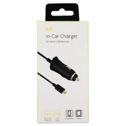 Cheap Stationery Supply of Kondor Micro USB Black In Car Charger 8600BCC2A Office Statationery