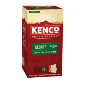 Kenco Instant Freeze Dried Decaffeinated Coffee Sticks 1.8g (Pack of 200) 89951