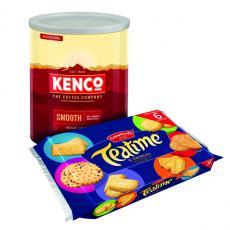 Kenco Smooth Instant Coffee 750g Buy 2 Get FOC Teatime Biscuits