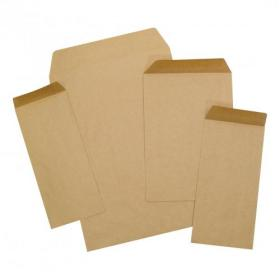 5 Star Office Envelopes FSC Pocket Recycled Gummed 80gsm DL 220x110mm Manilla Pack of 1000