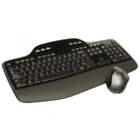 Logitech Wireless MK710 Desktop Keyboard and Mouse Set Black 920-002429