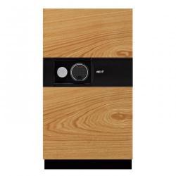 Cheap Stationery Supply of Phoenix Next LS7003FO Luxury Safe Size 3 (Oak) with Fingerprint Lock Office Statationery
