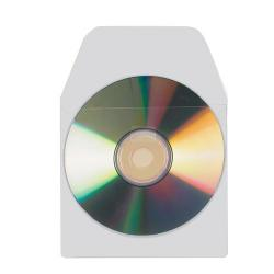 Cheap Stationery Supply of 3L Self-adhesive Polypropylene CD Pocket with Flap Pack of 100 6832-100 Office Statationery