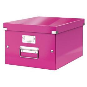 Leitz Click Store Medium Storage Box Pink 60440001