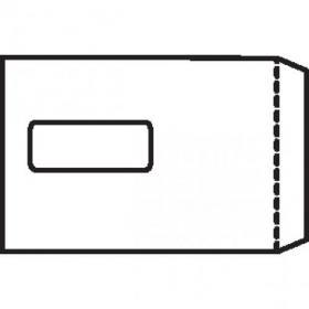 5 Star Office Envelopes Pocket Self Seal Window 90gsm C5 229x162mm White Pack of 500
