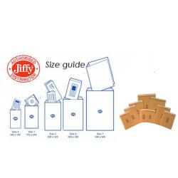 Cheap Stationery Supply of Jiffy AirKraft Bag Assorted Sizes Gold (Pack of 50) JL-SEL-A Office Statationery