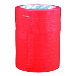 Cheap Stationery Supply of Polypropylene Tape 9mmx66m Red (Pack of 16) 70521252 Office Statationery
