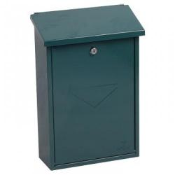 Cheap Stationery Supply of Barato Green - Steel Post Box Office Statationery