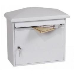 Cheap Stationery Supply of Libro White - Steel Post Box Office Statationery