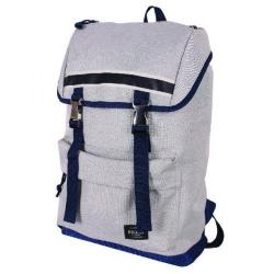 Cheap Stationery Supply of Bromo Alpa Outdoor Backpack Blue and Grey BRO003-06 Office Statationery