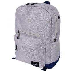 Cheap Stationery Supply of Bromo Toronto Backpack Blue and Grey BRO001-06 Office Statationery