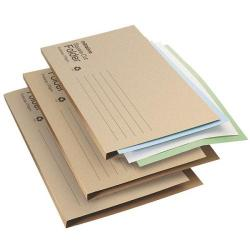 Cheap Stationery Supply of Initiative Economy Kraft Square Cut Folders 170gsm Foolscap Buff Office Statationery