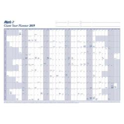 Cheap Stationery Supply of Mark-it Giant Year Planner 2019 19YP Office Statationery