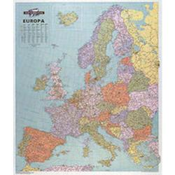 Cheap Stationery Supply of Map Marketing Europe Political Laminated Map EUR Office Statationery