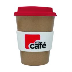 Cheap Stationery Supply of MyCafe Reusable Bamboo Cup 350ml LPHBAMCMC350 Office Statationery