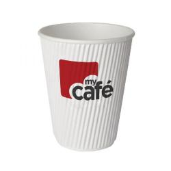 Cheap Stationery Supply of MyCafe 8oz Ripple Wall Hot Cups (Pack of 500) HVRWPA08V Office Statationery