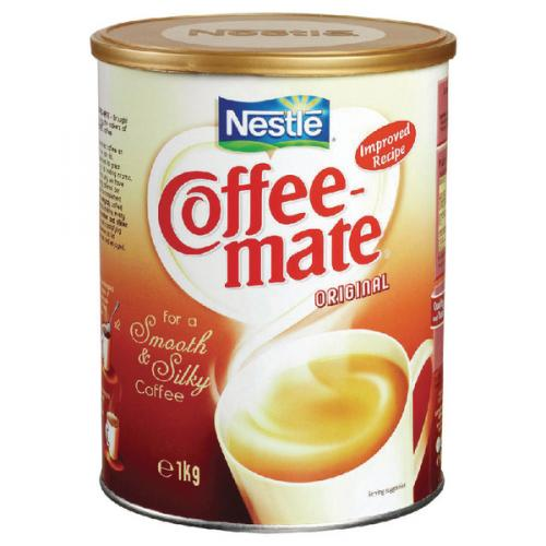 Nestle Coffee Mate 1kg Resealable Plastic Lid Doesnt Require Refrigeration 12057675