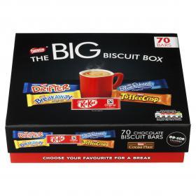 Nestle Big Biscuit Box (Includes: Breakaway, Kit Kat, Toffee Crisp, Yorkie, Blue Riband) 12313923