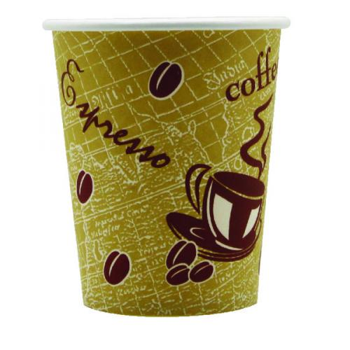 Environmental Friendly Paper Coffee Cups With Lids , OEM