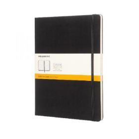 Moleskine Ruled Hardcover Notebook Extra Large Black QP090