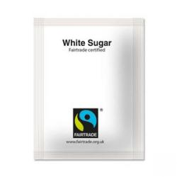 Cheap Stationery Supply of Fairtrade White Sugar Sachets 1000s Office Statationery