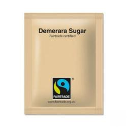 Cheap Stationery Supply of Fairtrade Sugar Sachets Brown 1000s Office Statationery