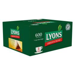 Cheap Stationery Supply of Lyons Original Blend 1 Cup Teabags 600s Green Box Office Statationery
