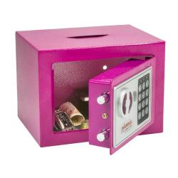 Cheap Stationery Supply of Phoenix Compact Electronic Deposit Pink Safe SS0721EPD Office Statationery