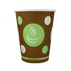 Cheap Stationery Supply of 8oz Belgravia Bio Paper Cups Office Statationery