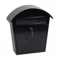Cheap Stationery Supply of Phoenix Clasico Front Loading Black Mail Box MB0117KB Office Statationery