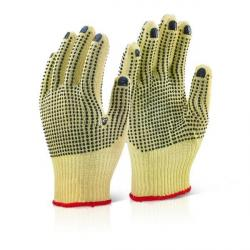Cheap Stationery Supply of Kevlar Fingerless Dotted Gloves Pair Office Statationery