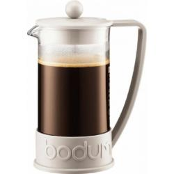 Cheap Stationery Supply of Bodum Brazil 3 Cup White Coffee Press 0.35 Litre Office Statationery