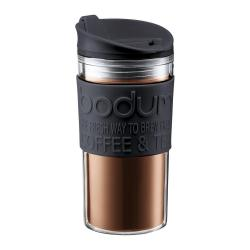 Cheap Stationery Supply of Bodum Black Travel Mug 0.35 Litre Office Statationery